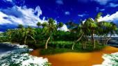 Paradise on Hawaii Island — Stockfoto