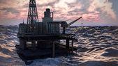 Ropné plošiny plošiny — Stock fotografie