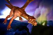 Dinosaurie doomsday — Stockfoto
