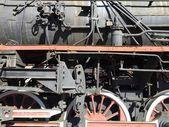 Исторические парового двигателя — Стоковое фото