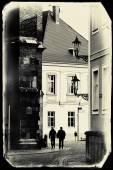 从弗罗茨瓦夫,波兰的老式明信片 — 图库照片