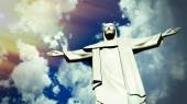 Christ the Redeemer statue in Ro de Janeiro — Stock Photo