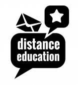 Black education icon — Vetor de Stock