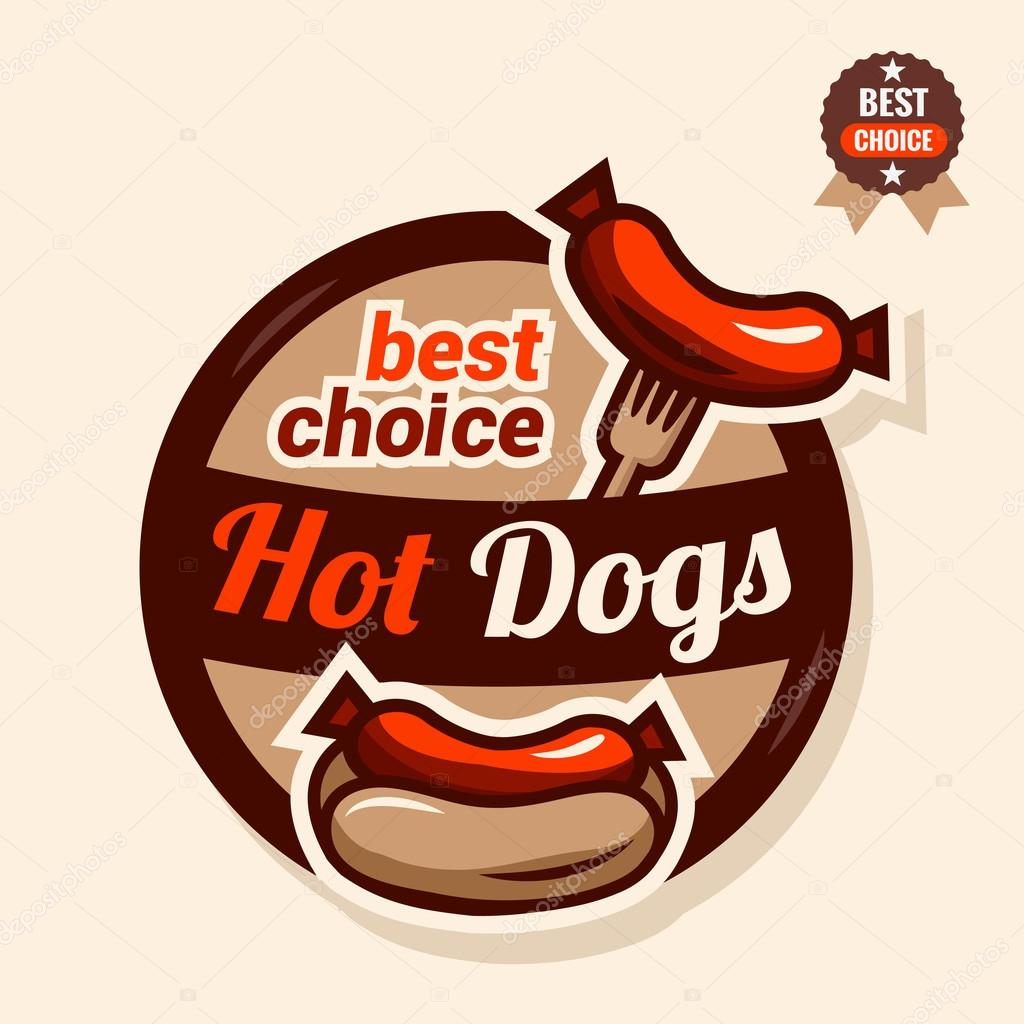 Hot Dog Logo Stock Vector Chistoprudnaya 69088737