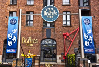 Beatles museum in Liverpool, England.