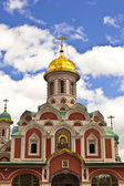 Kazan Cathedral in Moscow. — Foto de Stock