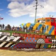 River Mersey Dazzle Ferry in Liverpool. — Stock Photo #71964573