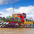 River Mersey Dazzle Ferry in Liverpool. — Stock Photo #72058885