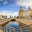 Постер, плакат: Pier Head in Liverpool