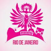 Rio de Janeiro carnival — Stock Vector