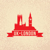 The symbol of London — Stock Vector