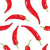 Red chili pepper — Stock Vector