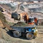 Loading of iron ore — Stock Photo #67783549