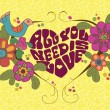 All we need is love — Stock Vector #76749555