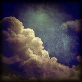 Grunge clouds background — Stockfoto