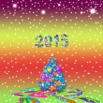 Christmas greeting card 2015 — Stock Photo #56228475
