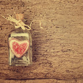 Saint-Valentin card, vintage style — Photo