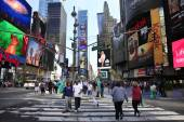 Times Square. New York City — Stock Photo