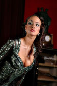 Mrs. of the world 2006 Sofia Argakovskaya — Stock Photo