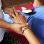 Massage of hand — Stock Photo #69741915