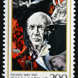 SAN MARINO - CIRCA 1981: A stamp printed in San Marino shows Birth Centenary of Pablo Picasso (1881-1973), artist, circa 1981 — Stock Photo #60764345