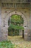 The arc of the ears or door Bib Rambla in Alhambra — Foto Stock