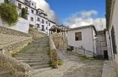Access road to the Puerta del Sol in Granada — Stock Photo