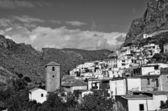 Overview of small Moorish village in La Alpujarra — Stock fotografie