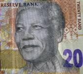 SOUTH AFRICA - CIRCA 2014: Nelson Mandela on 20 Rand 2014 Banknote from South Africa. — Stock Photo