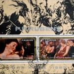 DPR KOREA - CIRCA 1983: A stamp printed in DPR Korea (North Korea) shows painting by Rubens, circa 1983 — Stock Photo #61934135