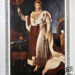 "CUBA - CIRCA 1981: A stamp printed in Cuba shows the ""Napoleon in Coronation Costume"", anonymous, from the series ""Paintings in the Napoleon Museum"", circa 1981 — Stock Photo #61934169"