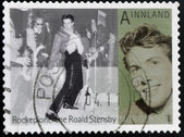 NORWAY - CIRCA 2009: A stamp printed in Norway shows Roald Stensby, circa 2009 — Stock Photo