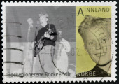 NORWAY - CIRCA 2009: A stamp printed in Norway shows Rocke Pelle, or Per Hartvig, circa 2009 — Stock Photo