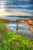 Hdr pond — Stock Photo