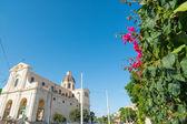 Blue sky over Bonaria — Stock Photo