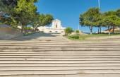 Bonaria stairs — Stock Photo