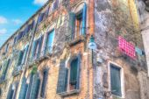 Hdr, здание в Венеции — Стоковое фото