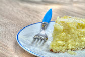 Cake slice — Stock Photo