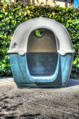 Dog house in hdr — 图库照片