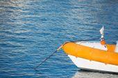 Rubber boat — Stock Photo