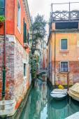 Colorful canal — Stock Photo