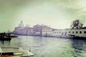 Grand Canal in vintage tone — Stockfoto