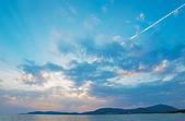 Scenic sunset — Stock Photo