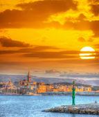 Bright sun over Alghero — ストック写真
