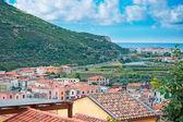 Cityscape of Bosa, Sardinia — Stock Photo