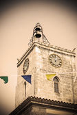 Watchtower in vintage tone — Stock Photo