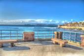 Alghero coastline seen from the promenade — Stock Photo