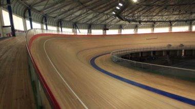 Cycling pursuit competitions — Vídeo de stock
