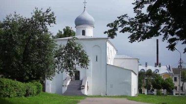 Russian Church 17th century — Стоковое видео