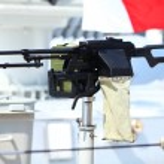 Kalashnikov heavy machine gun — Stock Photo #71033055